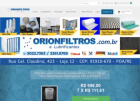 Orionfiltros.com.br thumbnail