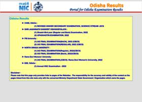 Orissaresults.nic.in thumbnail