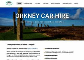 Orkneycarhire.co.uk thumbnail