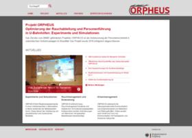 Orpheus-projekt.de thumbnail