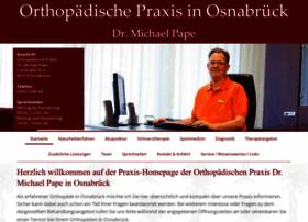 Orthopaedie-pape.de thumbnail