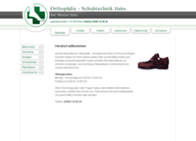 Orthopaedie-schuhtechnik-hahn.de thumbnail