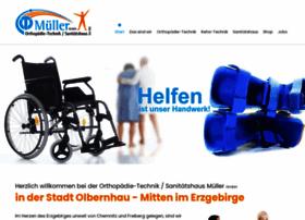 Orthopaedie-technik-mueller.de thumbnail