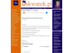 Oskwarek.pl thumbnail