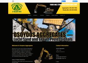 Osoyoosaggregates.ca thumbnail