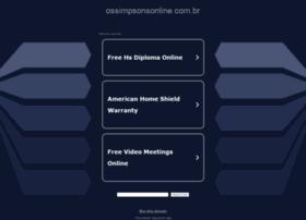 Ossimpsonsonline.com.br thumbnail