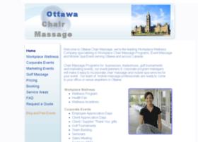 Ottawachairmassage.ca thumbnail