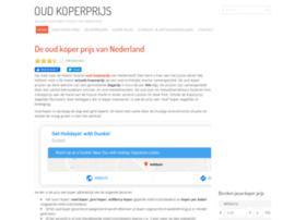 Oudkoperprijs.net thumbnail