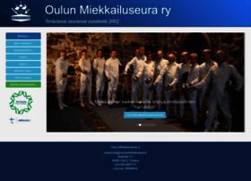 Oulunmiekkailuseura.fi thumbnail