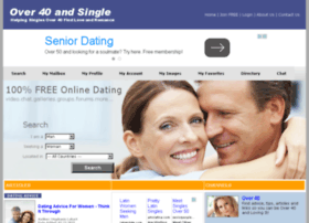 Over40andsingle.com thumbnail