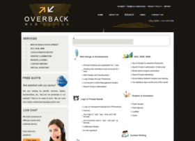 Overbackwebdesign.com thumbnail