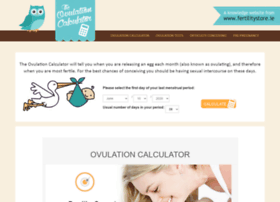 Ovulationcalculator.ie thumbnail