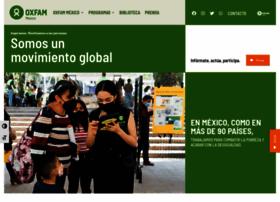 Oxfammexico.org thumbnail