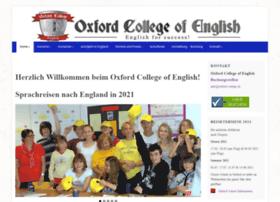 Oxford-college.de thumbnail
