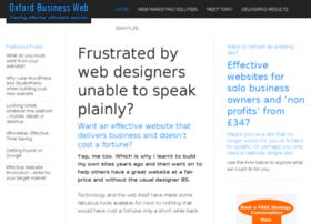 Oxfordbusinessweb.co.uk thumbnail