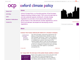 Oxfordclimatepolicy.org thumbnail