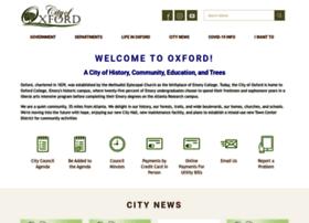 Oxfordgeorgia.org thumbnail