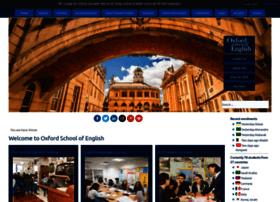 Oxfordschoolofenglish.com thumbnail
