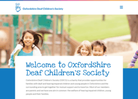 Oxfordshire-deaf-childrens-society.org.uk thumbnail