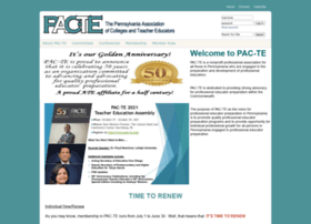 Pac-te.org thumbnail