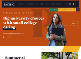 Pacific.edu thumbnail