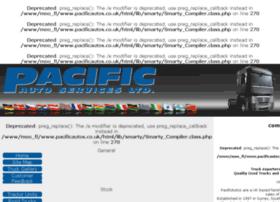 Pacificautos.co.uk thumbnail