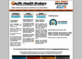 Pacifichealthbrokers.com thumbnail