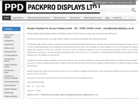 Packprodisplays.co.uk thumbnail