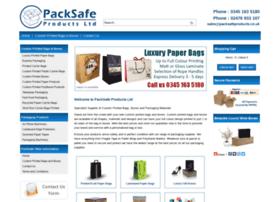 Packsafeproducts.co.uk thumbnail