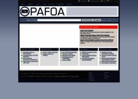 Pafoa.org thumbnail