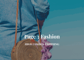 Page3fashion.com thumbnail