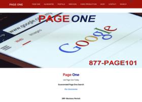 Pageone.biz thumbnail