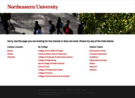 Pages.northeastern.edu thumbnail