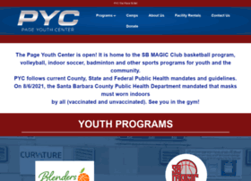 Pageyouthcenter.org thumbnail