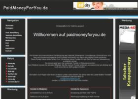 Paidmoneyforyou.de thumbnail