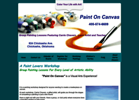 Paintoncanvas.net thumbnail