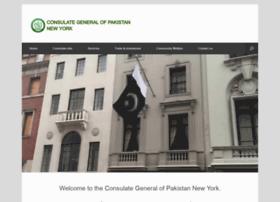 Pakistanconsulateny.org thumbnail