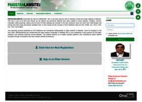 Pakistanlawsite.com thumbnail