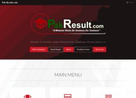 Pakresult.com thumbnail