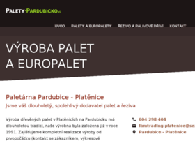 Palety-pardubicko.cz thumbnail