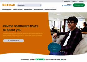Pallmallmedical.co.uk thumbnail