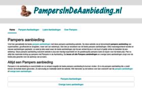 Pampersaanbiedingdezeweek.nl thumbnail