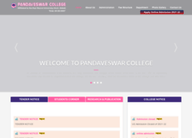 Pandaveswarcollege.org thumbnail