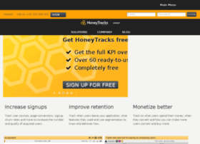 Panel.honeytracks.com thumbnail