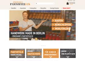 Pantoffeleck.de thumbnail