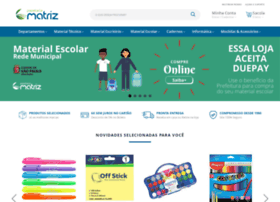 Papelariamatriz.com.br thumbnail