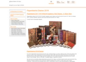 Paperblanks-diaries.co.uk thumbnail