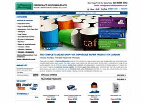 Papercraftdisposables.co.uk thumbnail