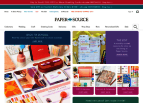 Papersource.com thumbnail