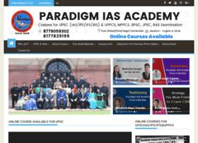 Paradigmiasacademy.in thumbnail